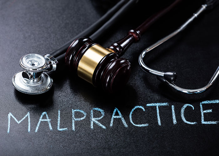 When are hospitals liable for medical malpractice?