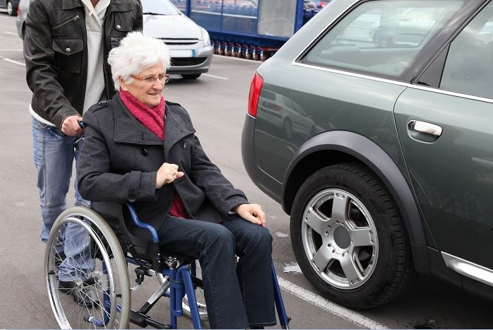 Wheelchair Bound, A Target For Vehicles